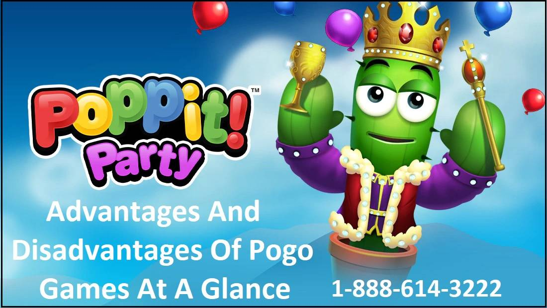 Advantages And Disadvantages Of Pogo Games At A Glance